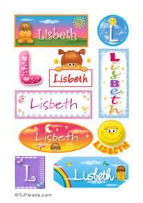Lisbeth - Para stickers