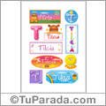 Tilcia - Para stickers