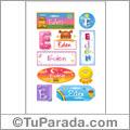 Eden - Para stickers