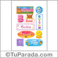 Belén - Para stickers