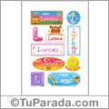 Lorena - Para stickers