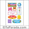 Magali - Para stickers