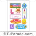 Laura - Para stickers