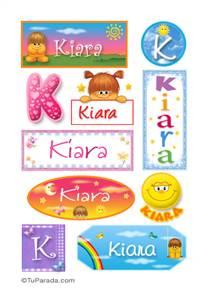 Kiara - Para stickers