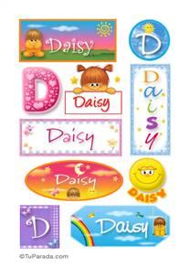 Daisy - Para stickers