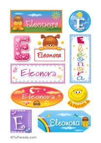 Eleonora - Para stickers