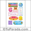 Griselda, nombre para stickers