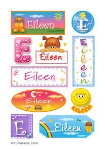 Eileen, nombre para stickers