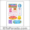 Enriqueta, nombre para stickers