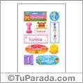 Isolina, nombre para stickers