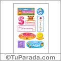 Sheremy, nombre para stickers