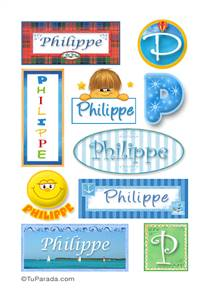 Philippe - Para stickers