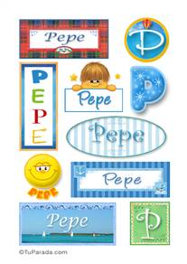 Pepe - Para stickers