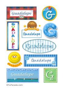 Guadalupe - Para stickers