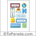 Nicolás  - Para stickers