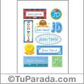 Juan David - Para stickers