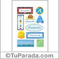 Alessandro - Para stickers