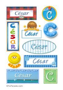 Cesar - Para stickers