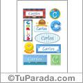 Carlos - Para stickers
