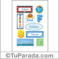 Fabian - Para stickers