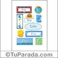 Eric - Para stickers
