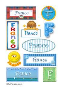 Franco -  Para stickers