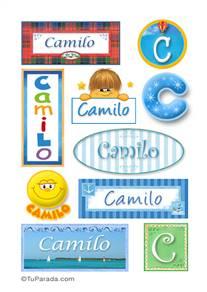 Camilo - Para stickers