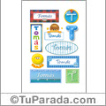 Tomás - Para stickers