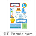 Luis - Para stickers