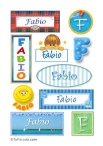 Fabio - Para stickers