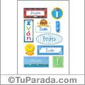 Iván - Para stickers
