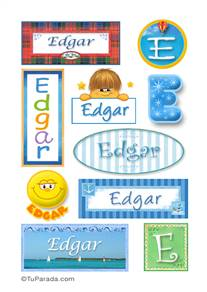 Edgar - Para stickers