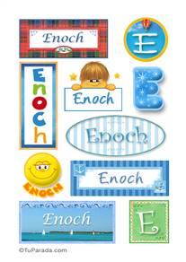 Enoch - Para stickers