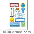 Thiago - Para stickers