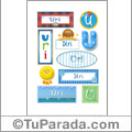 Uri - Para stickers