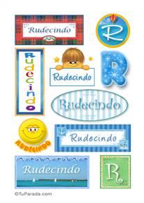 Rudecindo - Para stickers