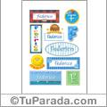 Federico - Para stickers