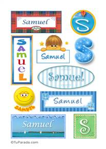Samuel - Para stickers
