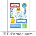 Juan - Para stickers
