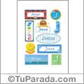 Josue - Para stickers
