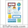 Flavio - Para stickers