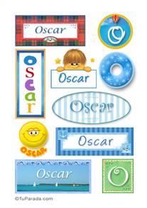 Oscar - Para stickers