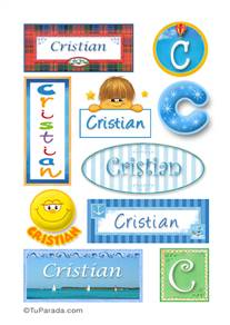 Cristian - Para stickers
