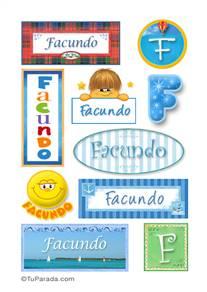 Facundo, nombre para stickers