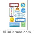 Guillermo, nombre para stickers