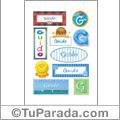 Guido, nombre para stickers