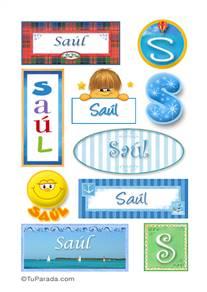 Saúl, nombre para stickers