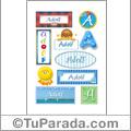 Adolf, nombre para stickers