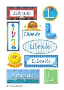 Librado, nombre para stickers