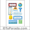 Telésforo, nombre para stickers